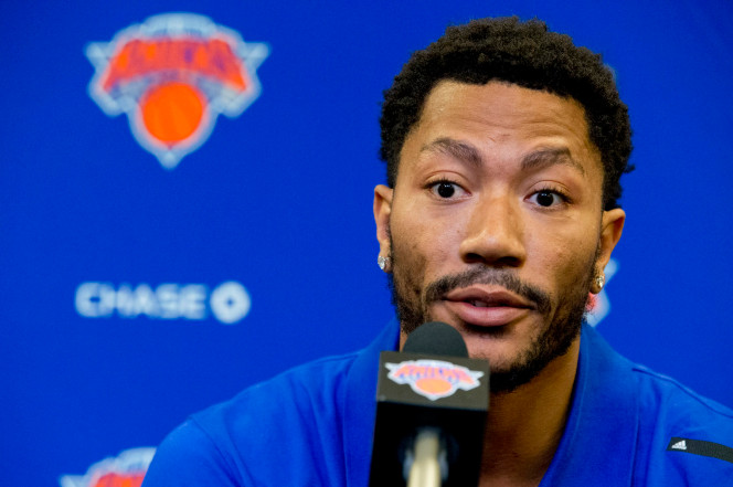 I Love Everything About Derrick Rose to the New YorkKnicks