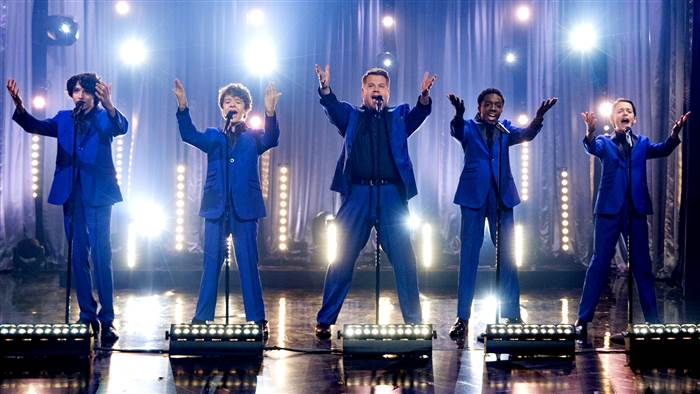 Stranger Things Cast Sang A Motown Medley With JamesCorden