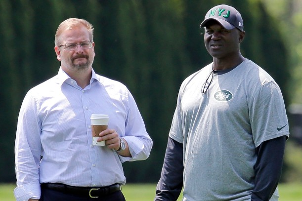 Image result for mike maccagnan todd bowles