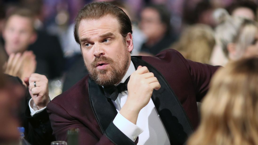 David Harbour Dancing With Penguins Proves Why He's The Coolest DudeEver