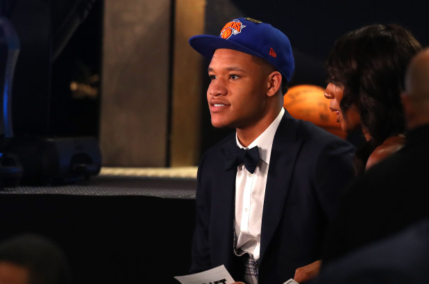 The New York Knicks Select Kevin Knox In The NBADraft