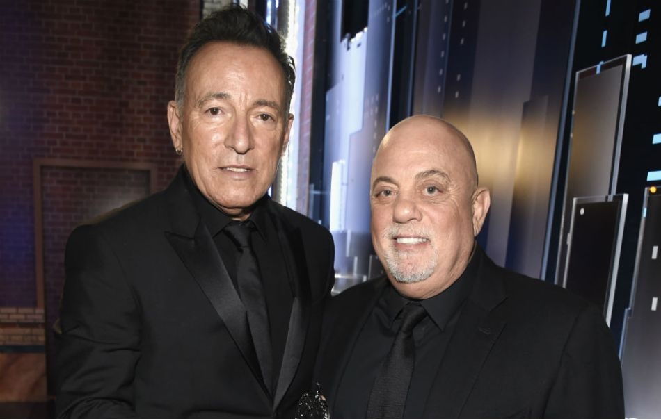 BILLY JOEL CELEBRA CON SPRINGSTEEN SU CENTÉSIMO SHOW EN EL MADISON