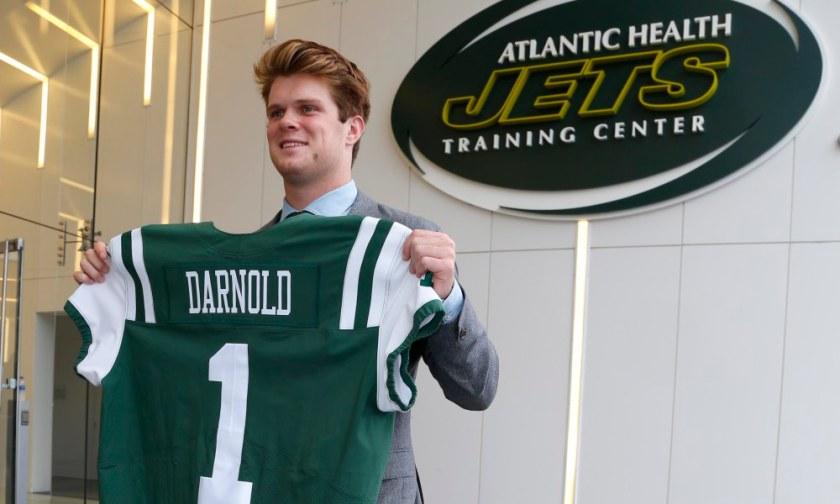 NFL: New York Jets-Sam Darnold Press Conference