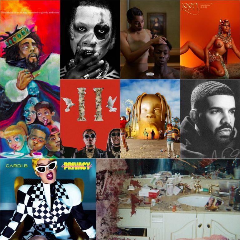 LordTreeSap's Top 10 Hip-Hop Albums of2018