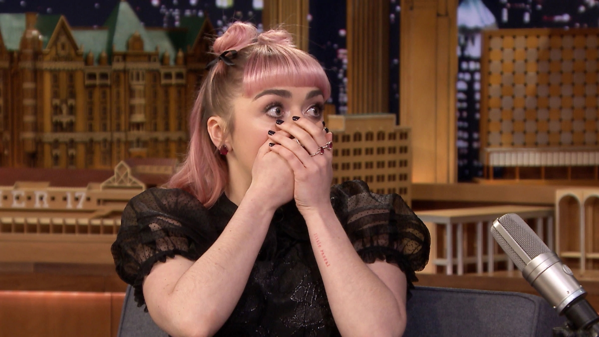 Maisie Williams Dropped A HUGE Game Of Thrones Spoiler On JimmyFallon