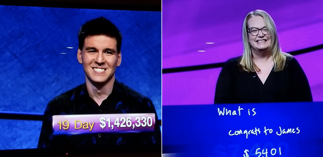 'Jeopardy!' Contestant Bends The Knee To 19-Time Champion, JamesHolzhauer