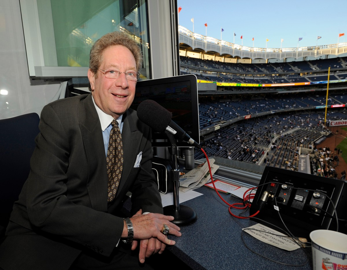 Giving John Sterling His Flowers: A Tip of the Cap to a BroadcastingLegend