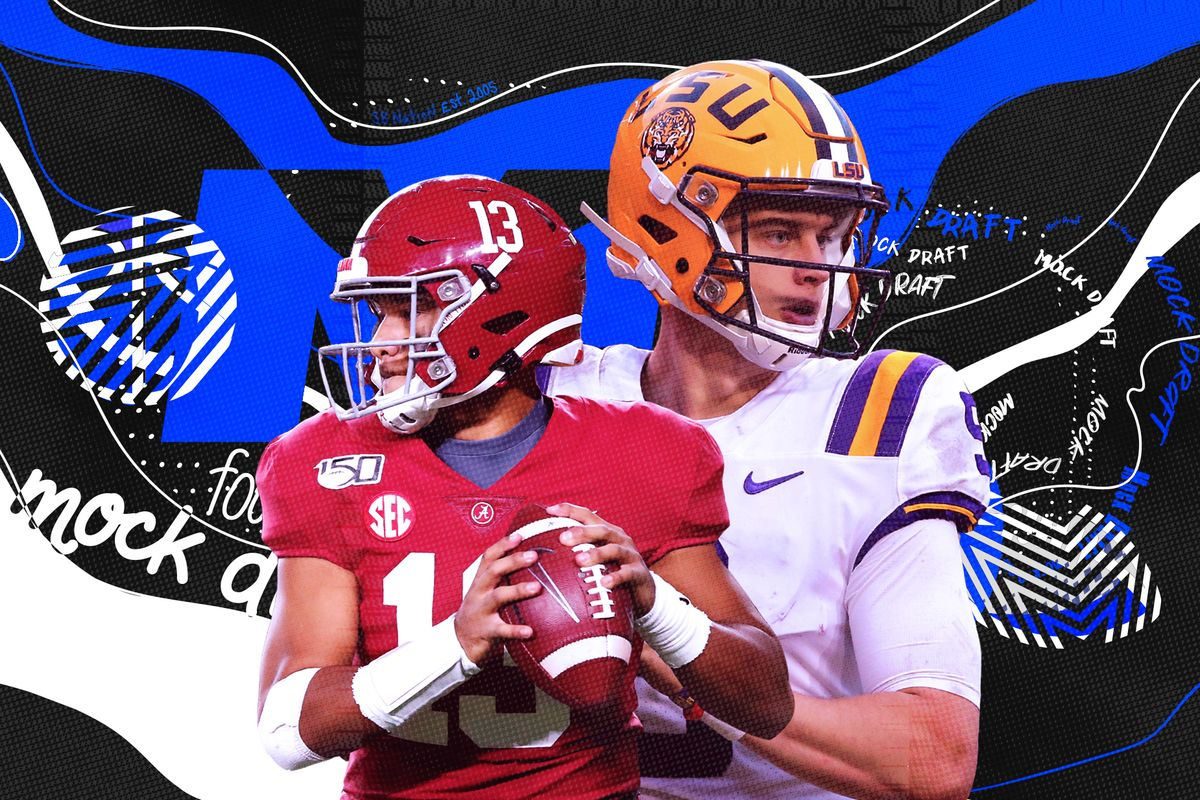 The Official DMR 2020 NFL Mock Draft Featuring Brandon Trager & BrianTrainor